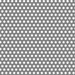 Lamiera forata in sendzimir dalle dimensioni di 100x200cm, spessore 1,5mm, foro ø3mm, passo 9mm a 60°