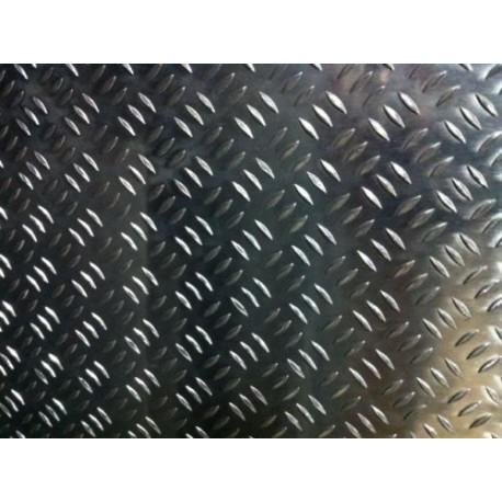 lamiera a chicco di riso in alluminio dalle dimensioni di