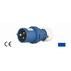 Spina industriale IP44 230V 16A-6h 2P+T