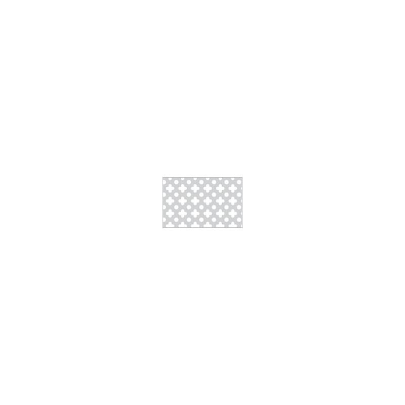 Lamiera forata in allumino dalle dimensioni 100x200cm, spessore 1mm, foro fiore dimensione 10mm ...