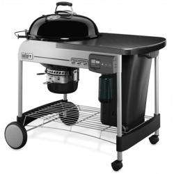 Barbecue a carbone Performer Deluxe GBS Gourmet Black ø57 cm