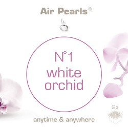 Capsula di profumo Air Pearls Ipuro - No 1 White Orchid