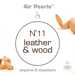 Capsula di profumo Air Pearls Ipuro - No 11 Leather & Wood