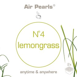 Capsula di profumo Air Pearls Ipuro - No 4 Lemongrass