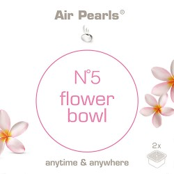 Capsula di profumo Air Pearls Ipuro - No 5 Flower Bowl