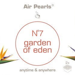 Capsula di profumo Air Pearls Ipuro - No 7 Garden of Eden