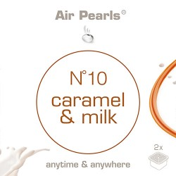 Capsula di profumo Air Pearls Ipuro - No 10 Caramel & Milk