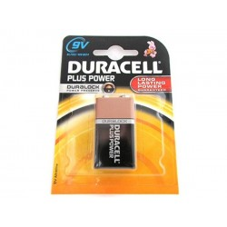 Batteria Duracell Plus Power Transistor 9V