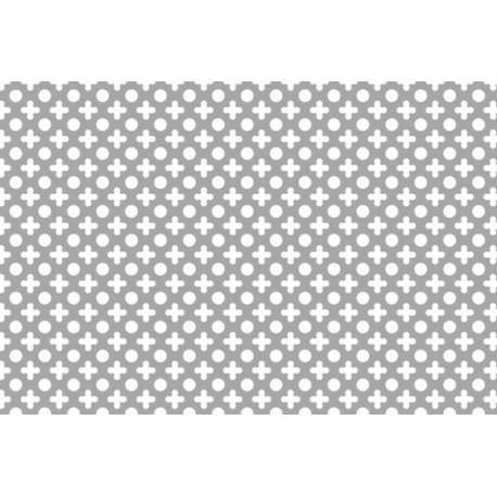 Lamiere in alluminio ( lega 1050 ) dalle dimensioni di 100x200 cm spessore 0,8 mm foro fantasia  dis. 10