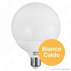 Lampadina Led E27 24W Globo G120 - Bianco caldo