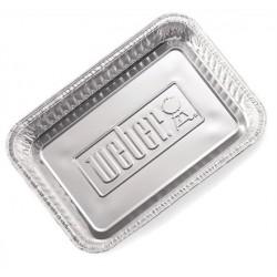 Vaschette in alluminio Weber per barbecue a carbone ø 47 cm e ø 57 cm