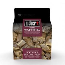 Grandi pezzi di legna Weber - Ciliegio