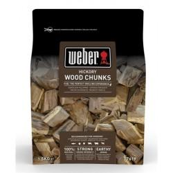 Grandi pezzi di legna Weber - Hickory