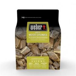 Grandi pezzi di legna Weber - Melo