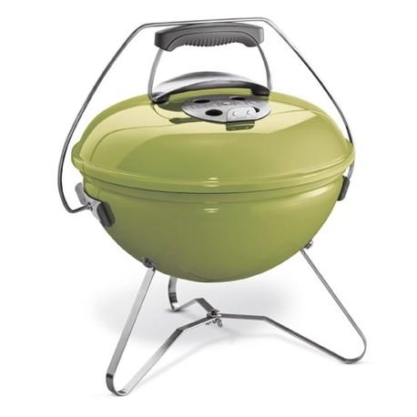 Barbecue a carbone Weber Smokey Joe premium Ø37cm Spring green