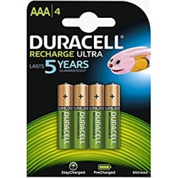Batteria Ricaricabile Duracell AAA