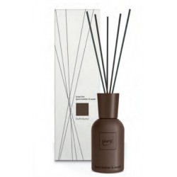 Diffusore di profumo con bastoncini Luxus Line 240ml - Leather & Wood