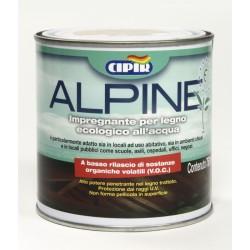 Vernice impregnante Acqua Alpine 0,75 lt - Incolore