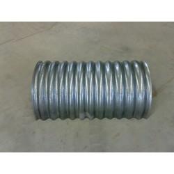 Canala di ventilazione mobile per magazzino, in lamiera zincata (sendzimir) spessore 1mm, foro ø2mm