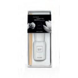 Diffusore di profumo con bastoncini Luxus Line 50ml - White