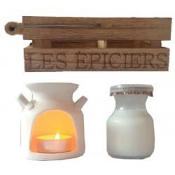 Bruciatore di fragranza Les Epiciers - Milk Box