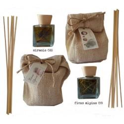 Diffusore di fragranza con bastoncini Les Epiciers - Aria di montagna