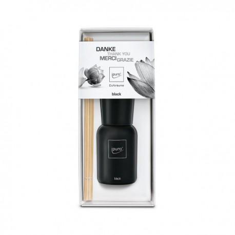 Diffusore di profumo con bastoncini Luxus Line 50ml - Black