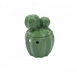 Bruciatore Scentchips - Cactus con coperchio Green