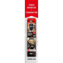 Special Pack Weber - Termometro a lettura istantanea + Corso L'ABC del barbecue
