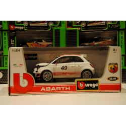 Modellino auto mod  Fiat 500 Abarth   in scala 1/24