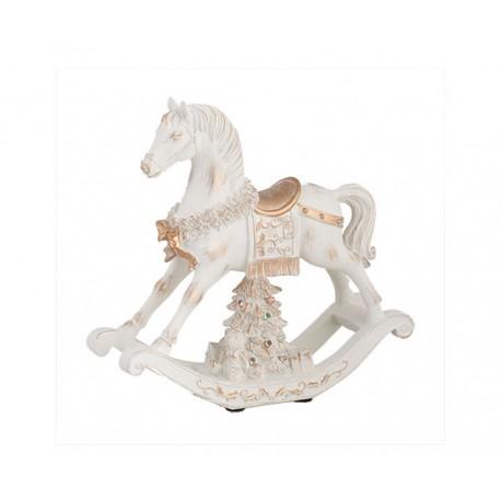 Cavallo a dondolo con musica e luci led