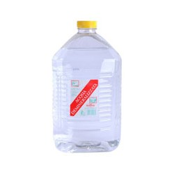 Acqua demineralizzata - lt 5