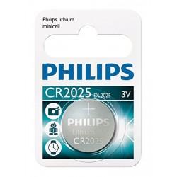 Batteria a bottone Litio Philips CR2025
