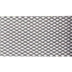 Rotolo rete stirata fe ( acciaio comune ) a maglia romboidale tipo R6 maglia 6x3,5  sp 0,6  100x600 cm