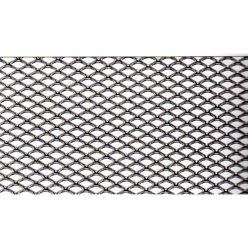 Rotolo di rete stirata in fe acciaio comune dalle for Rete stirata per cancelli