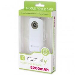 Carica batterie di emergenza per Smartphone 5200 mAh USB