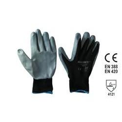 Guanto Glovex nero - Tg 11