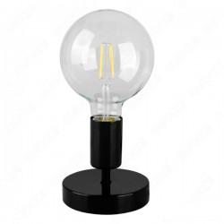 Lampada da tavolo 11 cm - Nero