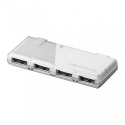 Mini Hub USB 2.0 4 porte bianco