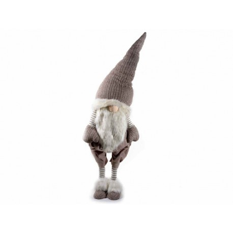 Babbo Natale in stoffa - H 175 cm