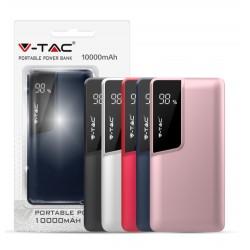 Power Bank 10000 mAh V-Tac con display