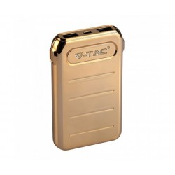 Power Bank 10000 mAh V-Tac Gold