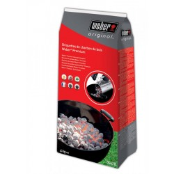 Bricchetti di carbone Weber 4 kg