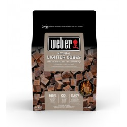 Cubetti accendifuoco naturali Weber