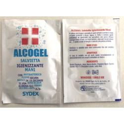 Salvietta Mani Monodose 10 pezzi - Igienizzante, disinfettante, antibatterico