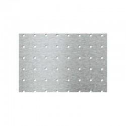 Lamiere forate in acciaio comune grezzo dimensioni 1430X1170 mm spessore 1 mm con foro tondo d. 5 mm passo 25 mm a 90° c