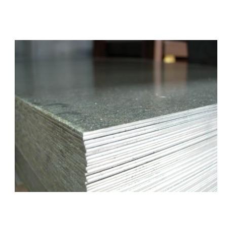 Lamiera zincata (sendzimir) dalle dimensioni di 100x200cm, spessore 1,2 mm