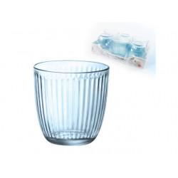 Bicchiere Line Acqua Bormioli Lively Blue - 6 pezzi