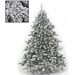 Albero Natale innevato cm 180 758 rami