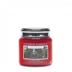 Candela in giara di vetro Village Candle - Apple Wood M